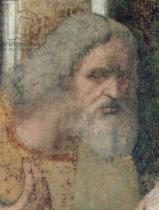 Leonardo da Vinci - Detail of The Last Supper, 1495-97