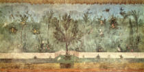 Unbekannt - Garden Paintings from the so-called 'Villa of Livia', Primaporta, Rome, c.20 BC