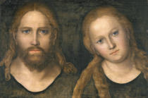 Lucas Cranach - Christ and Mary, 1516-20