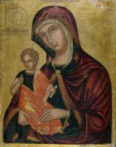 Greek School - Madonna and Child, c.1600