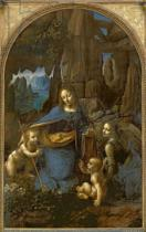 Leonardo da Vinci - The Virgin of the Rocks , c.1508