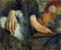 Edgar Degas - Study of Hands, 1859-60