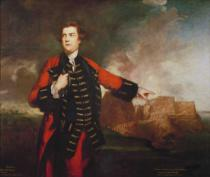Sir Joshua Reynolds - General William Keppel, Storming the Morro Castle,