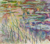 Claude Monet - Reflections on the Water, 1917