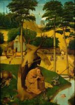 Hieronymus Bosch - Temptation of St. Anthony, 1490