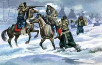 Ron Embleton - Indians in the Snow