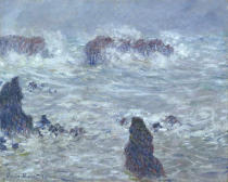 Claude Monet - Storm, off the Coast of Belle-Ile, 1886