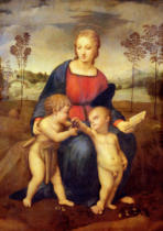 Raphael - Madonna of the Goldfinch, c.1506