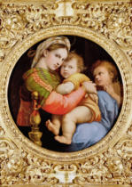 Raphael - The Madonna of the Chair