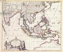 Frederick de Wit - Map of India and the East Indies