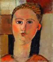 Amedeo Modigliani - The Red-haired Girl, 1915