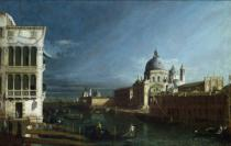 Bernardo Bellotto - The Molo Looking West with the Doge's Palace in the Distance