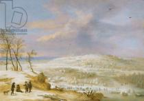 Lucas van Uden - Winter, 17th century