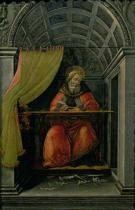 Sandro Botticelli - St. Augustine in his cell, 1490
