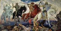 Victor Mikhailovich Vasnetsov - The Four Horsemen of the Apocalypse, 1887