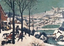 Pieter Brueghel der Ältere - Hunters in the Snow - january, 1565