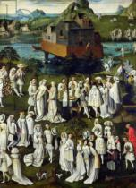 French School - The Garden of Love at the Court of Philip the Good, in the Gardens of the Chateau de Hesdin in 1431