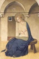 Fra Angelico - Detail of The Annunciation, c.1438-45