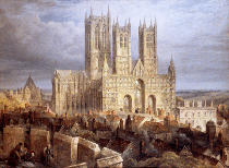 Frederick Mackenzie - Lincoln Cathedral