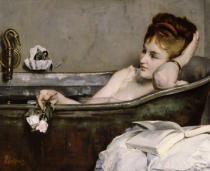 Alfred George Stevens - The Bath, c.1867