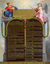 French School - Declaration of the Rights of Man and Citizen, 1789