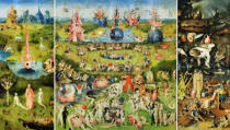 Hieronymus Bosch - The Garden of Earthly Delights, c.1500 (without frame)