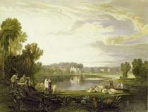 Joseph Mallord William Turner - Alexander Pope's Villa, Twickenham 1811