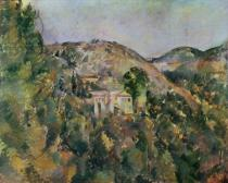 Paul Cézanne - View of the Domaine Saint-Joseph, late 1880s