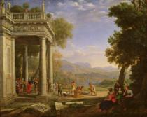 Claude Lorrain - David is consecrated king by Samuel