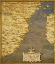 Stefano Bonsignori - Map of the Cape of Good Hope