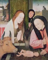 Hieronymus Bosch - Adoration of the Child