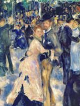 Pierre Auguste Renoir - Detail of Ball at the Moulin de la Galette, 1876