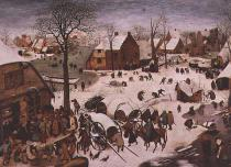 Pieter Brueghel der Ältere - The Census at Bethlehem