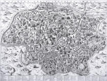 Ambrogio Brambilla - Antiquae Urbis Perfecta Imago, Map of Rome, c.1600