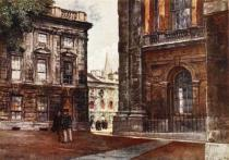 John Fulleylove - Christ Church, Peckwater Quadrangle, 1903