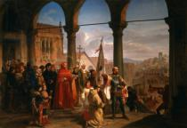 Cesare Felix dell Acqua - The Dedication of Trieste to Austria