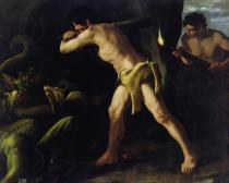 Francisco de Zurbaran - Hercules Fighting with the Lernaean Hydra, c.1634