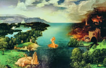 Joachim Patenier or Patinir - Charon Crossing the River Styx, 1515-24