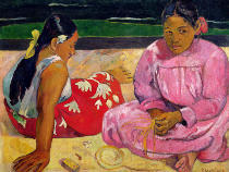 Paul Gauguin - Women of Tahiti, On the Beach, 1891