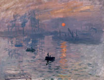 Claude Monet - Impression: Sunrise, Le Havre, 1872