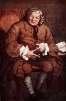 William Hogarth - Portrait of Simon Fraser, Lord Lovat, illustration from 'Hutchinson's Story of the British Nation', c.1923