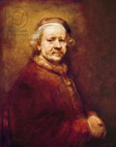 Harmensz van Rijn Rembrandt - Self Portrait in at the Age of 63, 1669