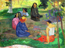 Paul Gauguin - Les Parau Parau , or Conversation, 1891