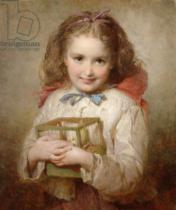 George Elgar Hicks - The Birthday Present