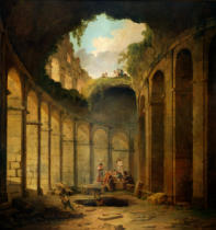 Hubert Robert - The Colosseum, Rome