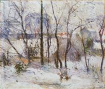 Paul Gauguin - Garden under Snow, 1879