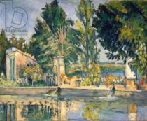 Paul Cézanne - Jas de Bouffan, the pool, c.1876