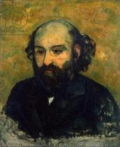 Paul Cézanne - Self Portrait, 1880-81