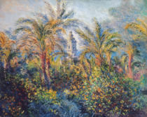 Claude Monet - Garden in Bordighera, Impression of Morning, 1884