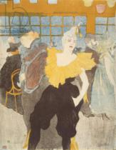 Henri de Toulouse-Lautrec - The Clownesse in the Moulin Rouge, 1897